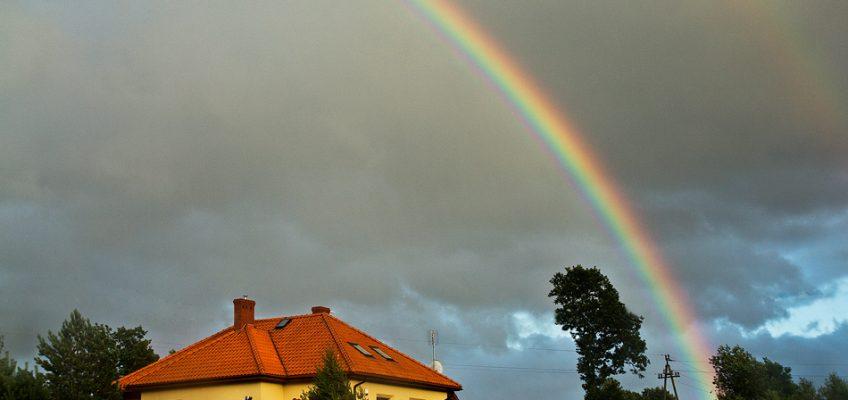 Deszczowa wstęga