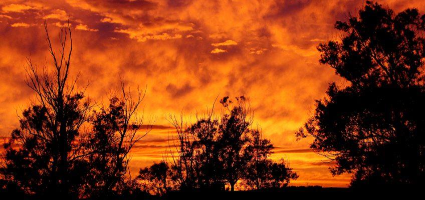 Niebiosa gorejące czyli burza w kosmosie
