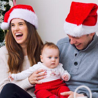 sesja rodzinna niemowleca swiateczna gdynia trojmiasto