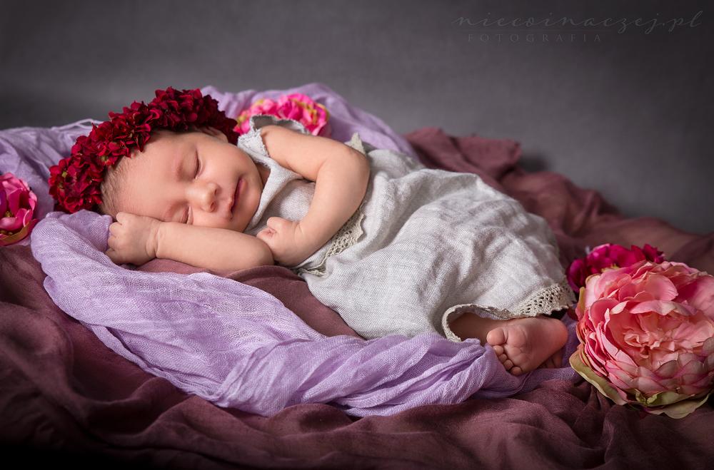 sesja noworodkowa niemowlęca Gdynia Trójmiasto