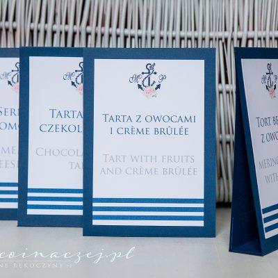 recznie robione zaproszenia winietki Gdynia Gdansk