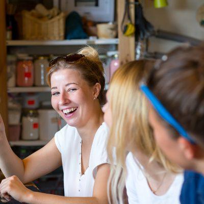 sesja panienska rustykalna na wsi kreatywne warsztaty